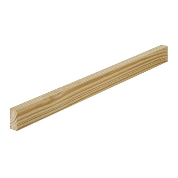 Sawn Treated Softwood 19 x 38mm x 1.8m