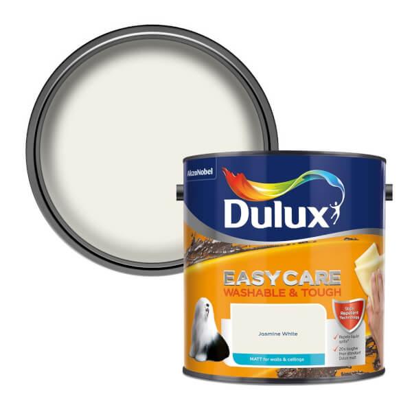 Dulux Easycare Washable & Tough Jasmine White - Matt - 2.5L