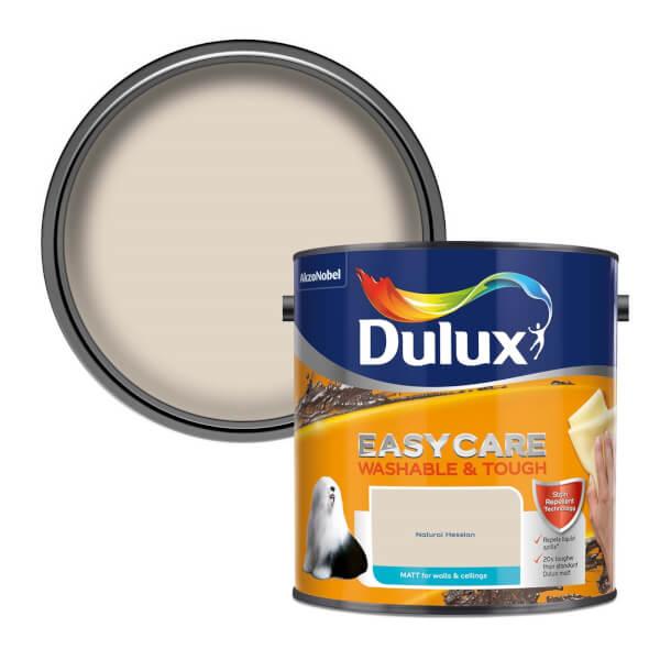 Dulux Easycare Washable & Tough Natural Hessian - Matt - 2.5L