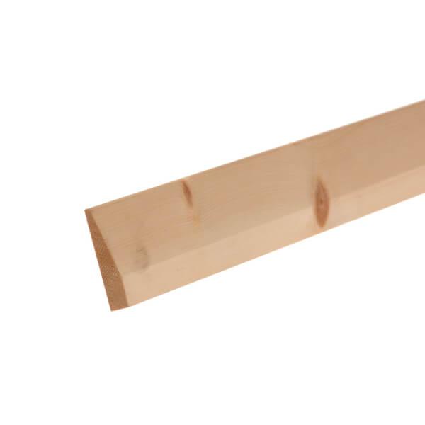 Pine Chamfered Architrave 15 x 69mm x 2.1m
