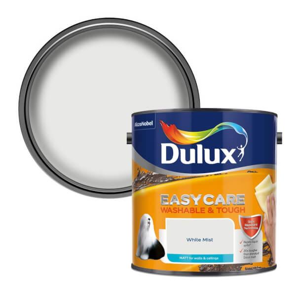 Dulux Easycare Washable & Tough White Mist - Matt - 2.5L