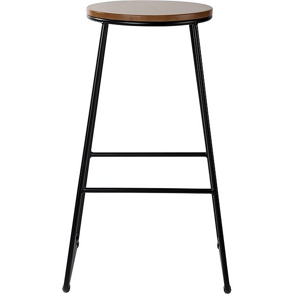 Large Bar Stool - Black