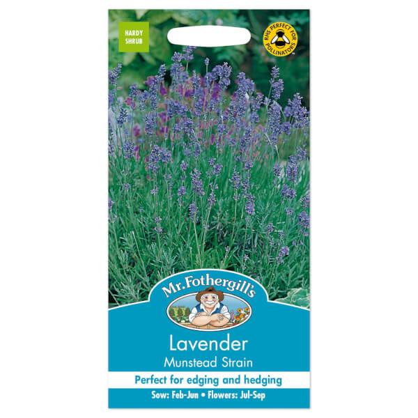 Mr. Fothergill's Lavender Munstead Strain Seeds