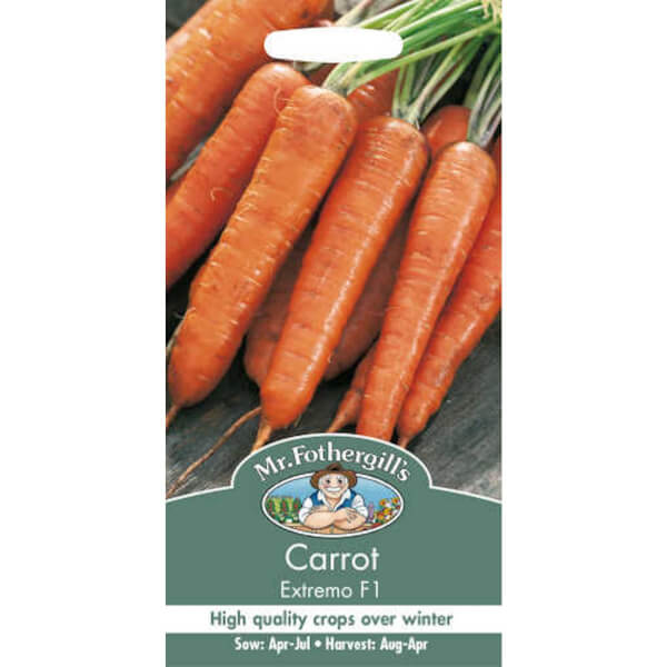 Mr. Fothergill's Carrot Extremo F1 Seeds