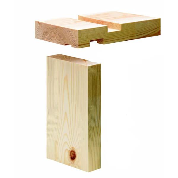 Internal Softwood Door Lining Set 28 x 131mm x 2.1m