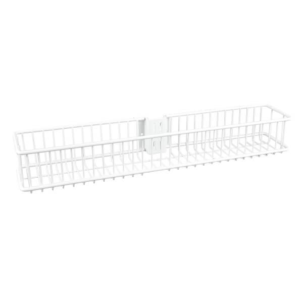 Small Basket - White - 79x435x70mm