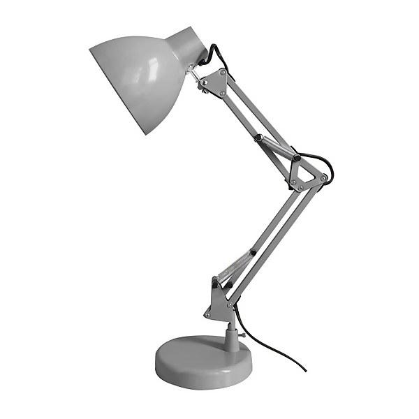 Lucas Angled Desk Lamp - Soft Grey