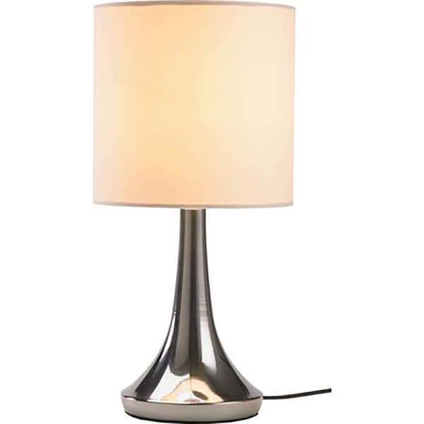 Mia Touch Table Lamp, Cream