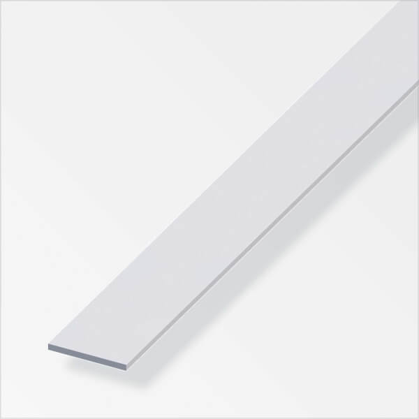 Anodised Aluminium Flat Bar Profile - 2m x 25mm