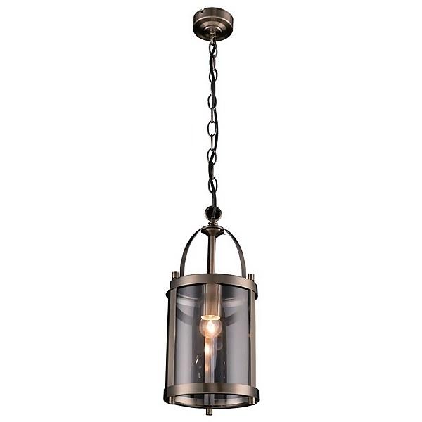 Lara Lantern Antique Brass Ceiling Light