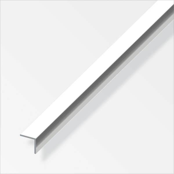 Aluminium Equal Angle Profile - Chrome Finish - 15mm x 15mm x 1m