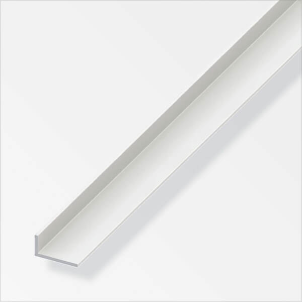 PVC Unequal Angle Profile - 1m x 40 x 10mm