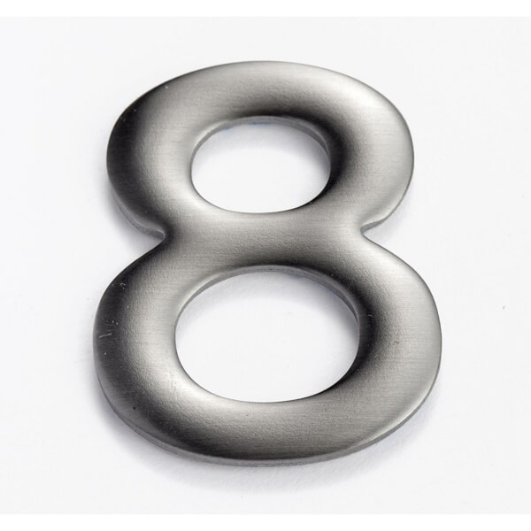 Mode Self Adhesive House Number - 50mm - 8