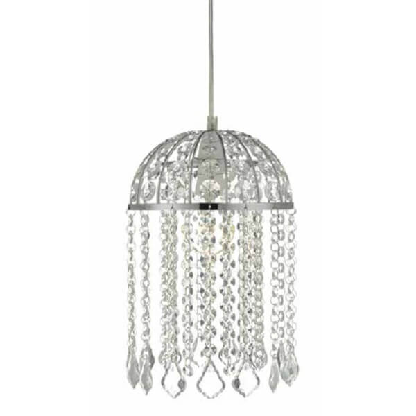 Victoria Domed Crystal Easy Fit Lamp Shade