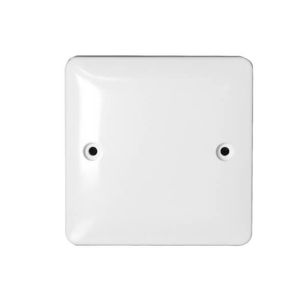 Arlec Slim Line Single Blanking Plate White