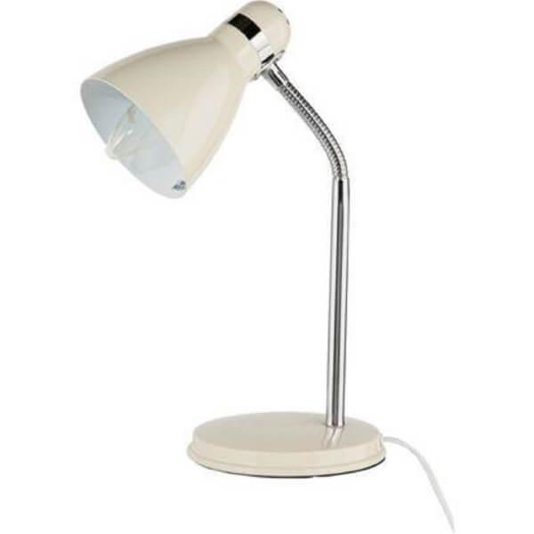 Hampton Desk Lamp - Cream