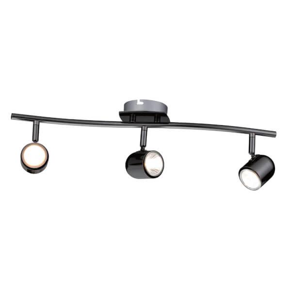Phoenix 3 Bar Spotlight - Black Chrome