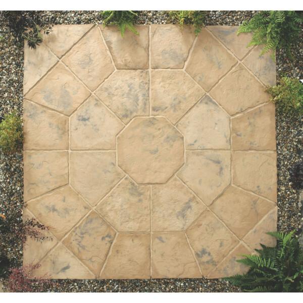 Stylish Stone Belfrey Octagon Kit 2.3m - Autumn Brown