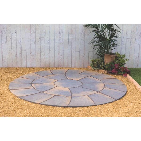 Stylish Stone Chantry Twist Circle 2.4m - Antique