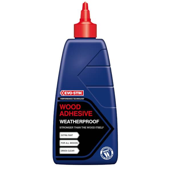 Evo-Stik Resin Wood Adhesive Exterior Bottle - 500ml