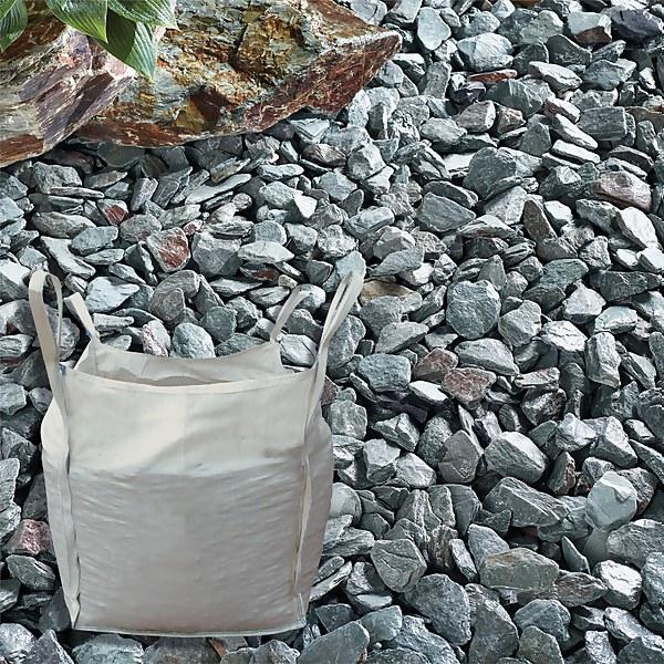 Stylish Stone Green Slate 40mm - Bulk Bag 750 kg