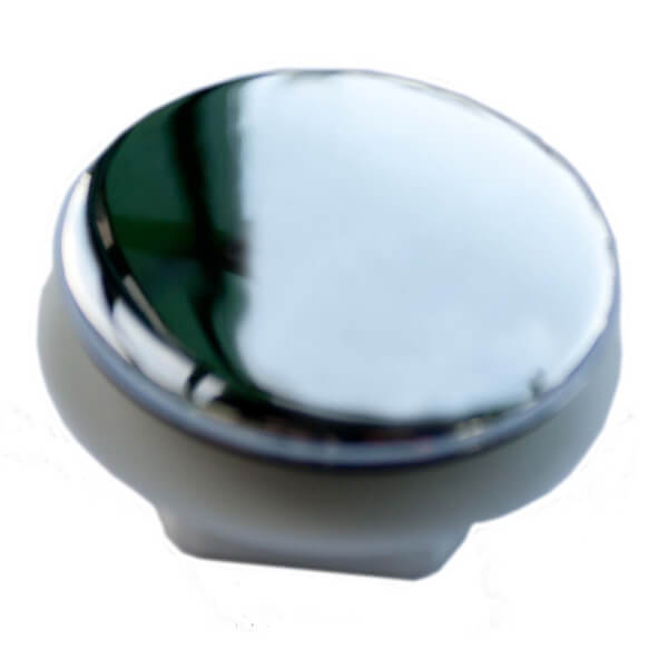 Tap Hole Stopper Chrome Effect