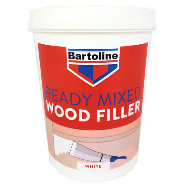 Bartoline White Wood Filler - 1kg