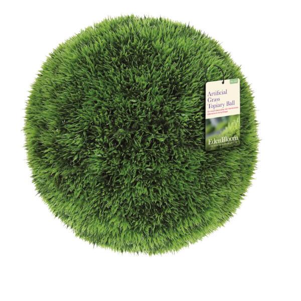 Eden Bloom Artificial Grass Effect Topiary Ball - 40cm