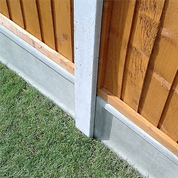 Forest Lightweight Concrete Gravel Board - Pack of 3