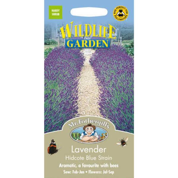 Mr. Fothergill's Lavender Hidcote Blue Strain (Lavandula Angustifolia) Seeds