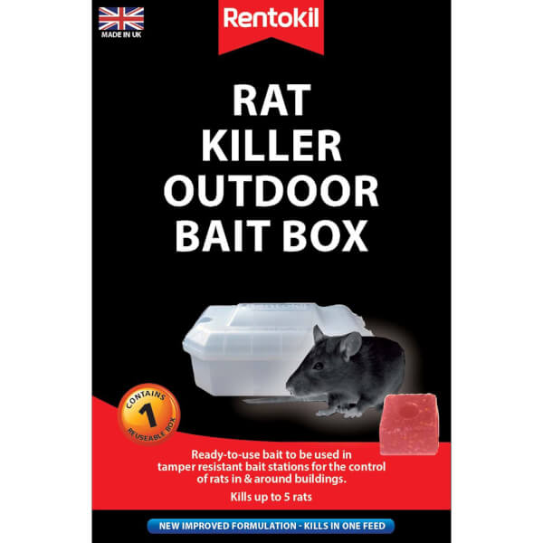Rentokil Pre-loaded Rat Bait Station