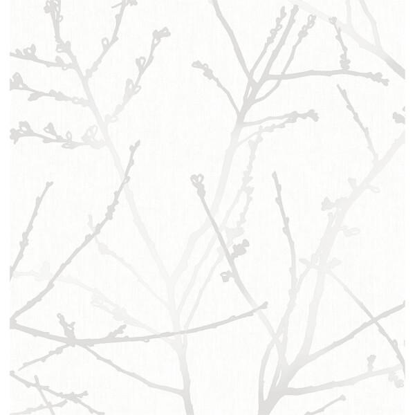 Superfresco Easy Innocence Wallpaper - White Mica