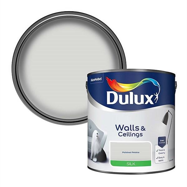 Dulux Polished Pebble - Silk Paint - 2.5L
