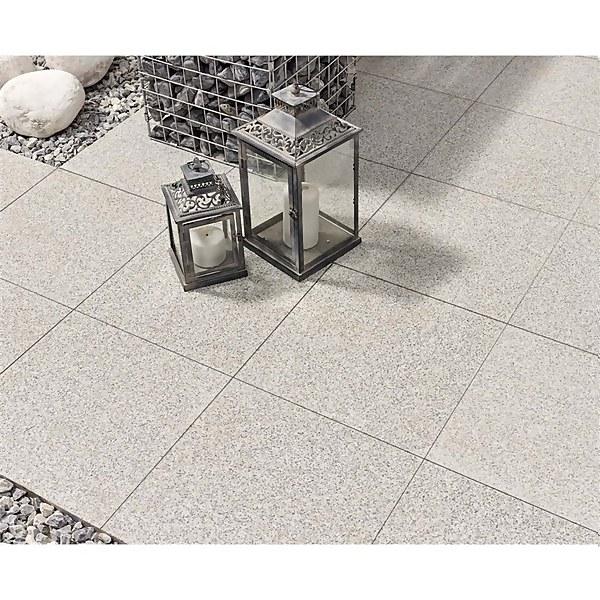 Stylish Stone Granite Paving 400 x 400mm - Light Grey