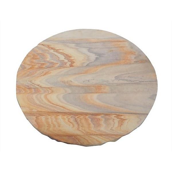 Stylish Stone Natural Stepping Stone 400mm - Rainbow