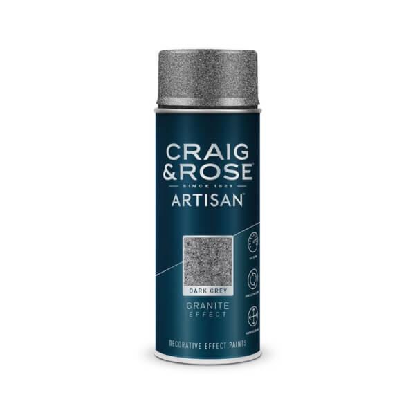 Craig & Rose Artisan Granite Spray Paint - Dark Grey - 400ml