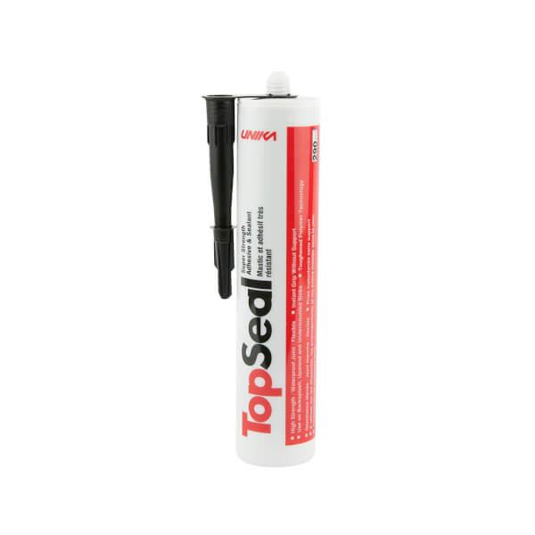 Unika Topseal Black Backsplash & Upstand Sealant - 290ml