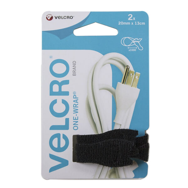 VELCRO? Brand ONE-WRAP? Snack Size Cable Ties Black