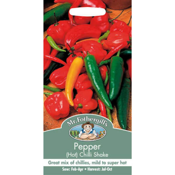 Mr. Fothergill's Hot Pepper Chilli Shake (Capsicum Annuus) Seeds