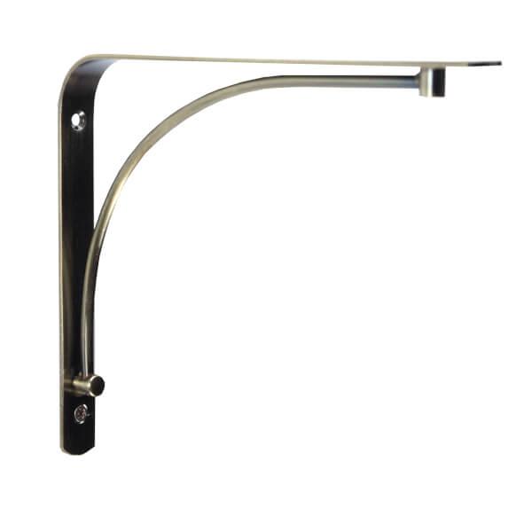 Arch Bracket - Brass - 18x23cm