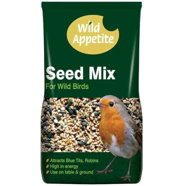 Wild Appetite Bird Seed Mix For Wild Birds - 4kg