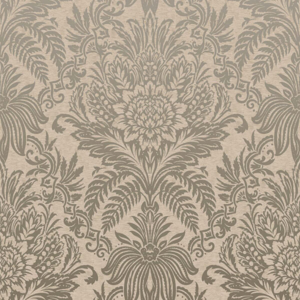 Fresco Signature Damask Biscuit Wallpaper