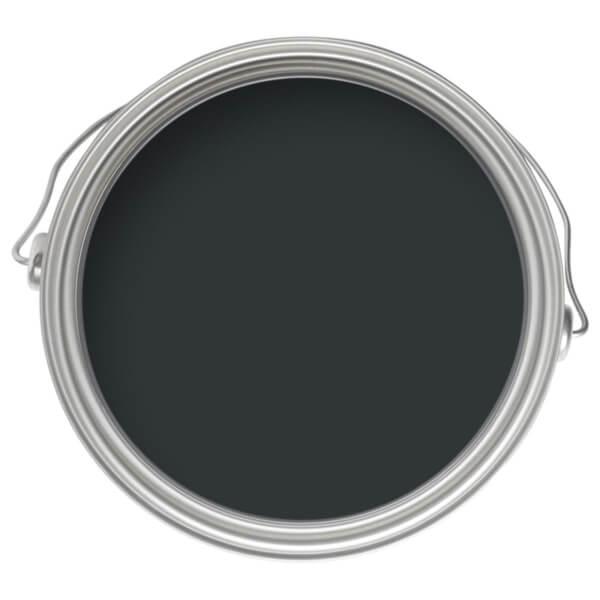 Farrow & Ball Modern Eggshell Midsheen Paint Black Blue No.95 - 2.5L