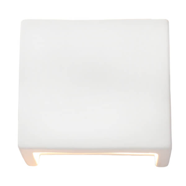 Adriene Ceramic Square Wall Light