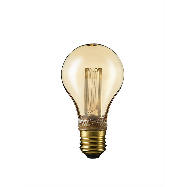 TCP LED Vintage Classic 9WEQ E27 Classic Light Bulb