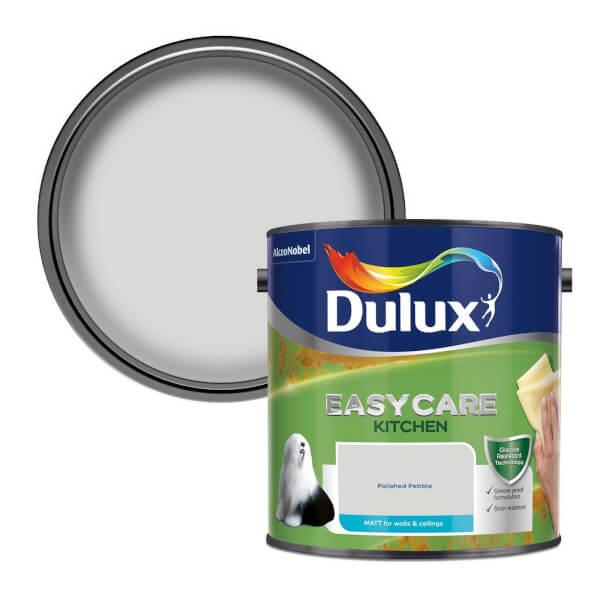 Dulux Easycare Kitchen Polished Pebble Matt Paint - 2.5L