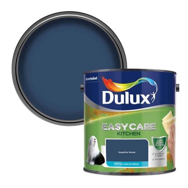 Dulux Easycare Kitchen Sapphire Salute Matt Paint - 2.5L