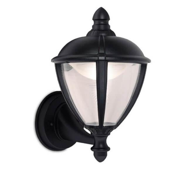 Lutec Unite 6.5W 3000K LED Wall Light - Black