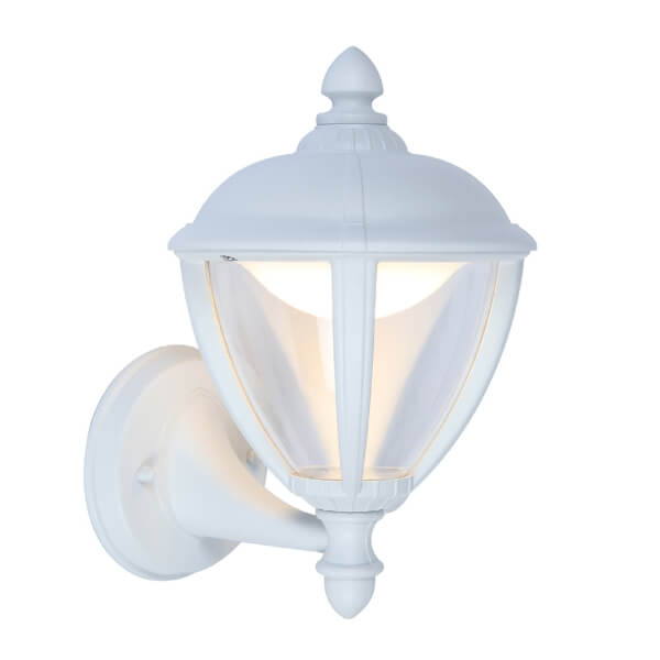 Lutec Unite 6.5W 3000K LED Wall Uplight - White