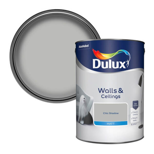 Dulux Standard Chic Shadow Matt Emulsion Paint - 5L